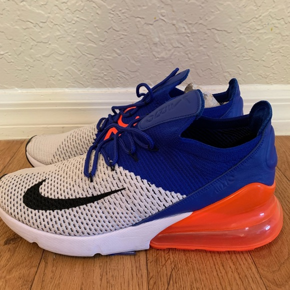 new product 57ace baf68 New Nike Air Max 270 Flyknit Ultramarine Men